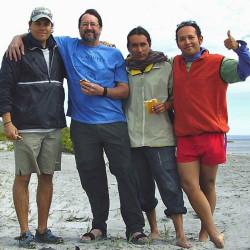 Sergio, Steven, Benjamin, Mauricio